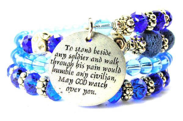 Soldiers Prayer Multi Wrap Bracelet