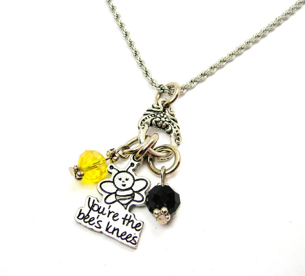 You're The Bee's Knees Catalog Necklace  - Black & Yellow