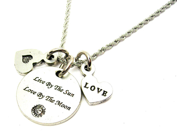you + me tree heart,  Style_Love charm,  Style_Love necklace,  Style_Love jewelry,  forever charm,  forever necklace,  forever jewelry,  rope necklace