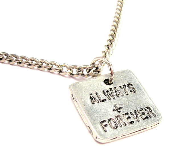 Always And Forever Single Charm Necklace