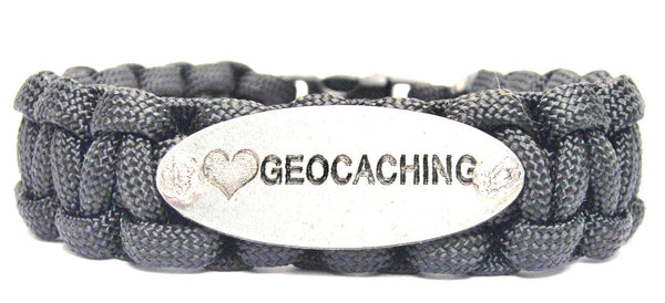 Love Geocaching 550 Military Spec Paracord Bracelet