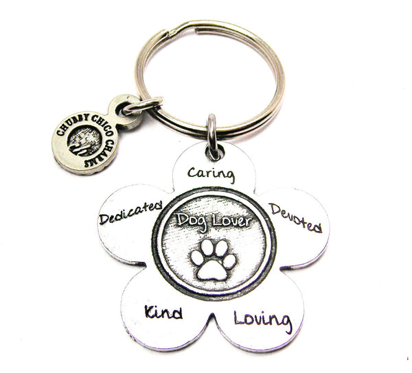 Dog Lover Catalog Keychain