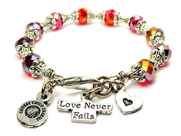 Love Never Fails Catalog Capped Crystal - Siam