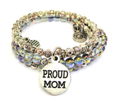 PROUD MOM CATALOG DELICATE GLASS AND ROSES WRAPS - GRAY