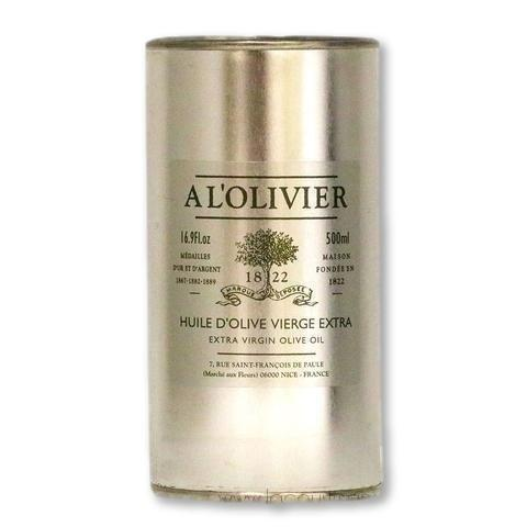 A L'Olivier - Extra Virgin Olive Oil, 500ml Refill Tin - Olive Oil - La Courtisane Gourmet Food