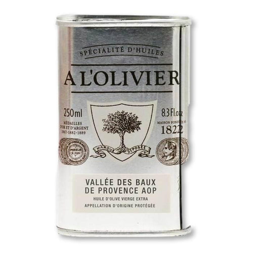 A L'Olivier - French Extra Virgin Olive Oil from Vallee des Baux de Provence PDO, 250ml - Olive Oil - La Courtisane Gourmet Food