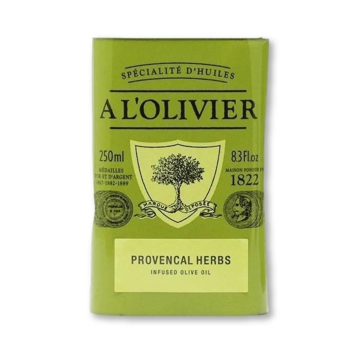 A L'Olivier - Herbs of Provence Infused Extra Virgin Olive Oil, 250ml Tin - Olive Oil - La Courtisane Gourmet Food