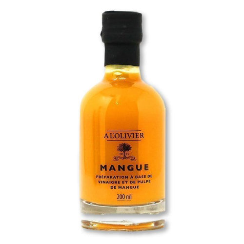 A L'Olivier - Mango Infused Fruit Vinegar, 200ml - Vinegar - La Courtisane Gourmet Food