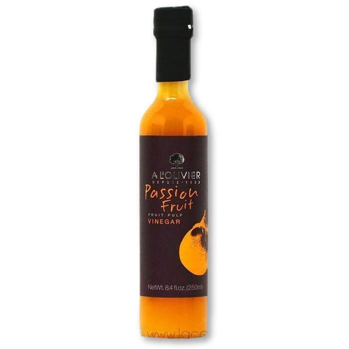 A L'Olivier - Passionfruit Infused Fruit Vinegar, 250ml - Vinegar - La Courtisane Gourmet Food