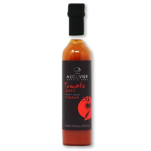 A L'Olivier - Tomato & Basil Infused Fruit Vinegar, 250ml - Vinegar - La Courtisane Gourmet Food