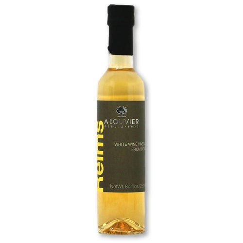 A L'Olivier - White Wine Vinegar from Reims, 250ml - Vinegar - La Courtisane Gourmet Food