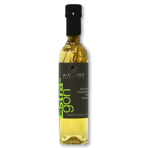 A L'Olivier - White Wine Vinegar with Tarragon, 250ml - Vinegar - La Courtisane Gourmet Food