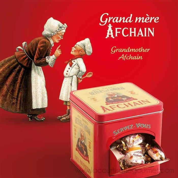 "AF Chain - Metal Box ""Help Yourself"" - Candies Mint Flavor Les Betises, 400g - Candies - La Courtisane Gourmet Food"