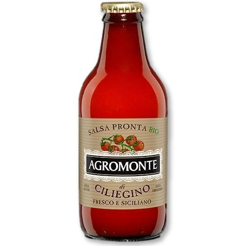 Agromonte - Organic Ready Cherry Tomato Sauce 330 grams - Pasta Sauce - La Courtisane Gourmet Food