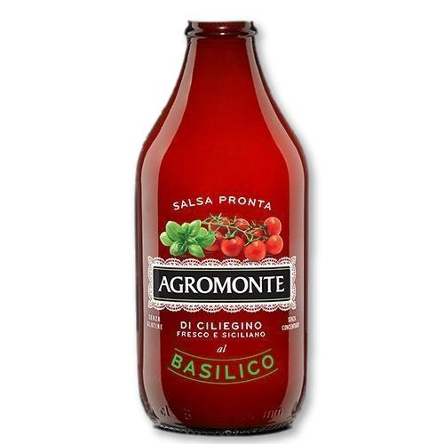 Agromonte - Ready Cherry Tomato Sauce with Basil 330 grams - Pasta Sauce - La Courtisane Gourmet Food