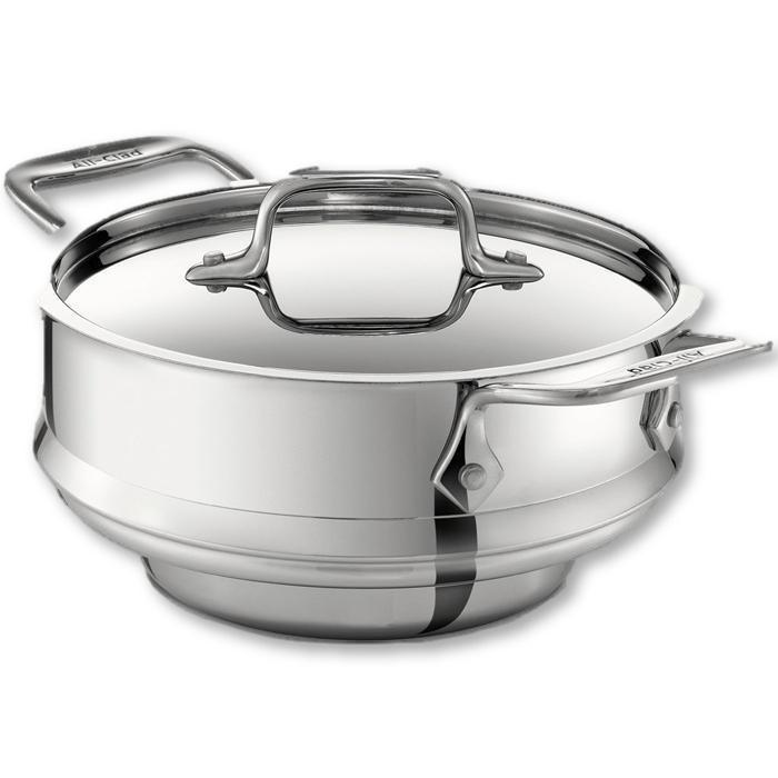 All Clad - All Purpose Steamer With Lid - - La Courtisane Gourmet Food