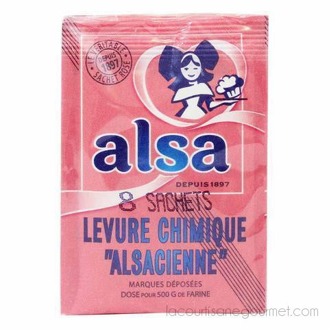 Alsa Baking Powder 8 Bags 3 Oz. (85G) - baking powder - La Courtisane Gourmet Food
