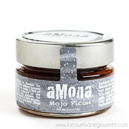 aMona - Mojo Picon Spicy Condiment 4 oz - Condiment - La Courtisane Gourmet Food