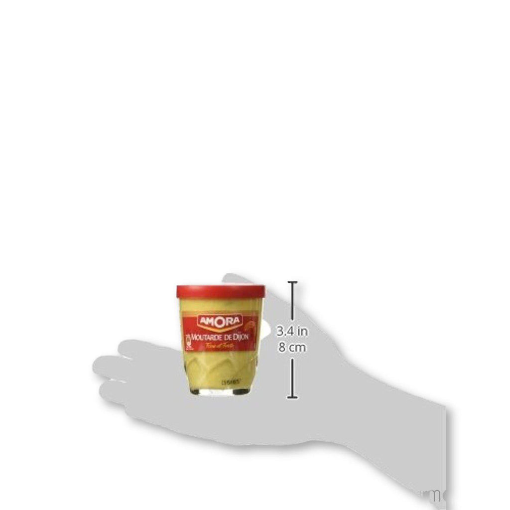 Amora - Fine French Strong Dijon Mustard 5.3 Oz. Pack Of 2 - Mustard - La Courtisane Gourmet Food