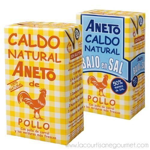 Aneto - Spanish Chicken Broth 34 fl - Soup - La Courtisane Gourmet Food