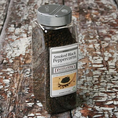 Angelina's Gourmet - Smoked Black Peppercorns 16 oz - Pepper - La Courtisane Gourmet Food