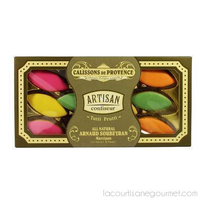 Arnaud Soubeyran - Calissons De Provence Assorted Fruit Flavor 4.9 Oz. - Candies - La Courtisane Gourmet Food