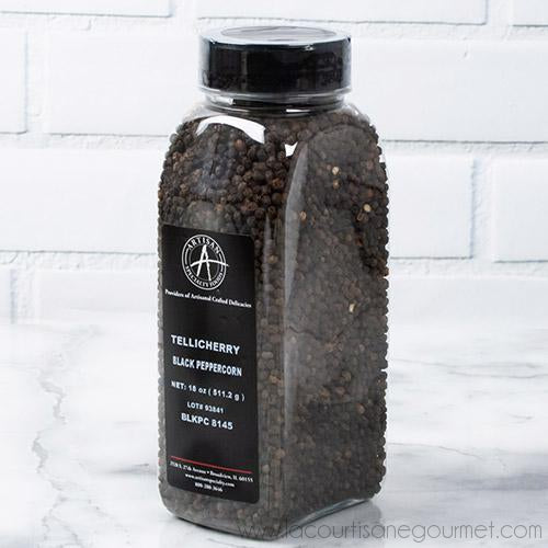 Artisan Specialty - Black Telicherry Peppercorns 18 oz - Pepper - La Courtisane Gourmet Food