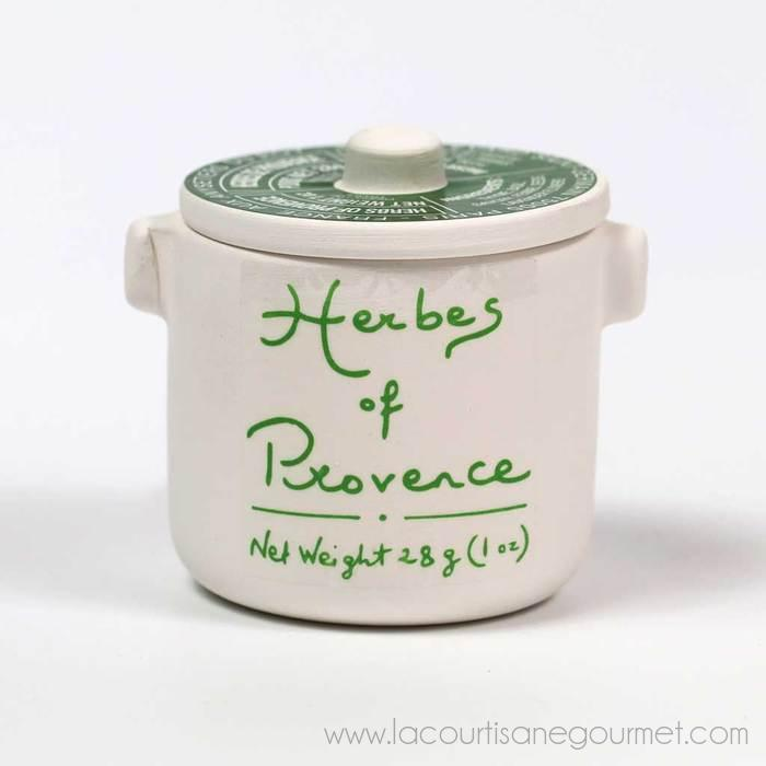 Aux Anysetiers Du Roy - Herbs De Provence In Ceramic Jar 1 Oz (28G) - Herb - La Courtisane Gourmet Food