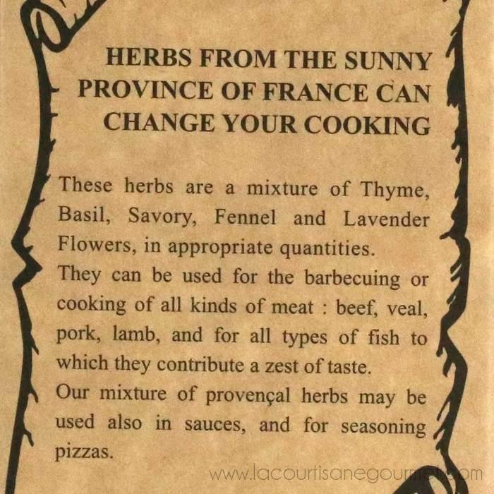 Aux Anysetiers du Roy - Herbs of Provence Seasoning Refill, 2oz Box - Herb - La Courtisane Gourmet Food