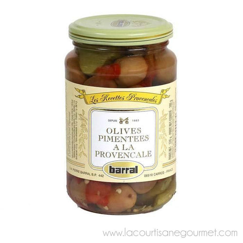 Barral - Spicy Provencal Olive Mix, 200g (7oz) - Spicy Olive - La Courtisane Gourmet Food