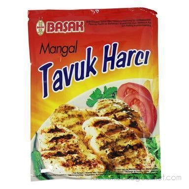 Basak Grilled Chicken Seasoning Mangal Tavuk Harci 2.1 Oz. (60G) - seasoning - La Courtisane Gourmet Food