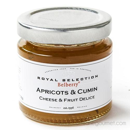 Belberry - Apricot & Cumin Compote 4.5 oz - Spread - La Courtisane Gourmet Food