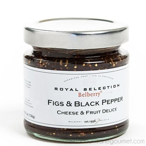 Belberry - Figs & Black Pepper Compote 4.5 oz - Jam - La Courtisane Gourmet Food