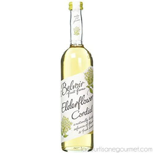 Belvoir Fruit Farm - Elderflower Cordial, 500Ml - Syrup - La Courtisane Gourmet Food