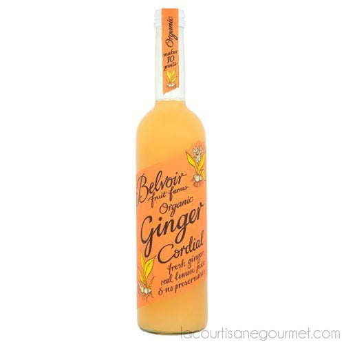 Belvoir Fruit Farms - Cordials - Organic Ginger - 500Ml - Syrup - La Courtisane Gourmet Food