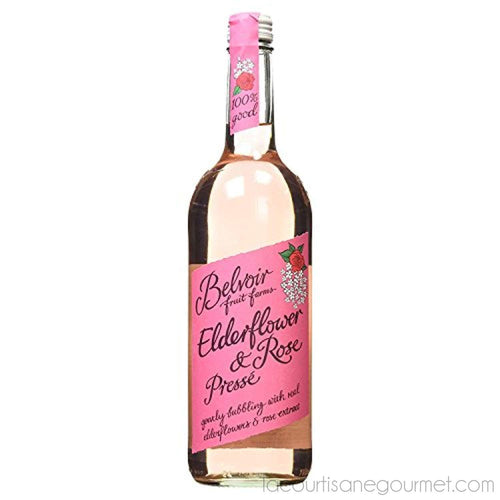 Belvoir Fruit Farms Elderflower And Rose Lemonade 750Ml - - La Courtisane Gourmet Food