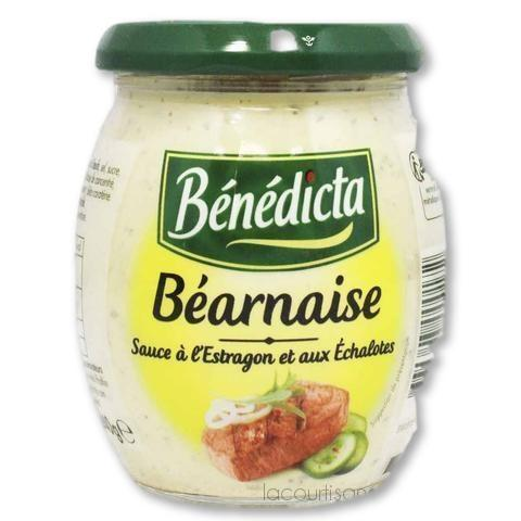 Benedicta - Bearnaise Sauce 9.1 Oz (260G) - mayonnaise - La Courtisane Gourmet Food