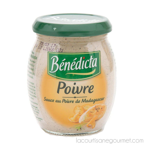 Benedicta - Peppercorn Sauce 9.1 Oz. (260G) - mayonnaise - La Courtisane Gourmet Food