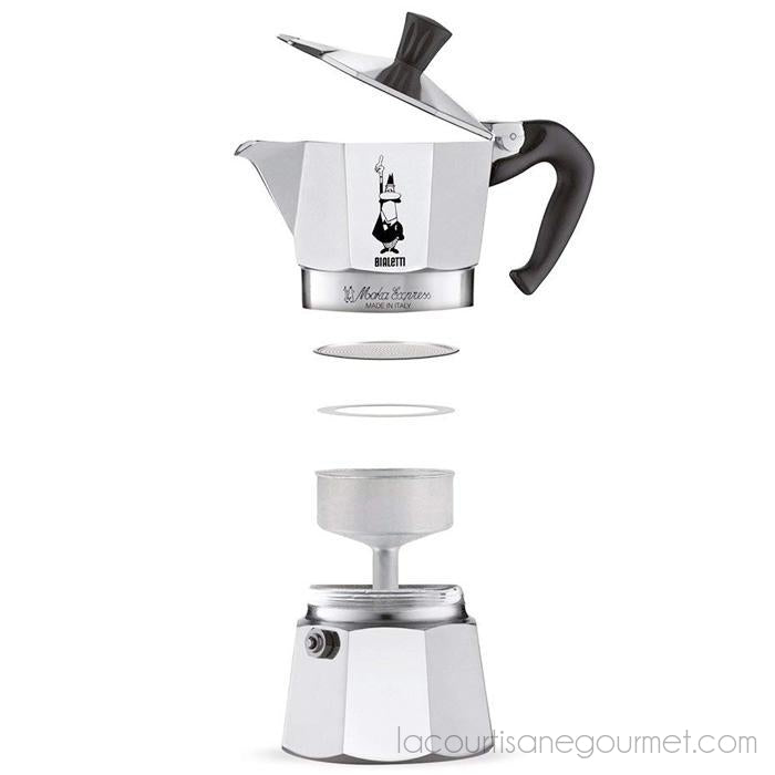 Bialetti - Moka Express Stovetop Coffee Maker, 9 Cup - - La Courtisane Gourmet Food