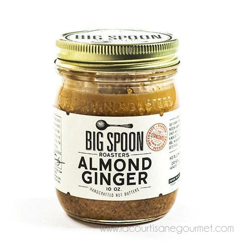 Big Spoon Roasters - Almond Ginger Butter 10 oz - Spread - La Courtisane Gourmet Food