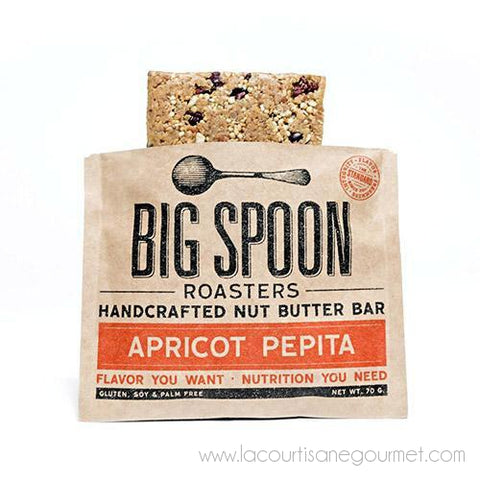 Big Spoon Roasters - Apricot Pepita Bar 70 grams - Cereal Bar - La Courtisane Gourmet Food