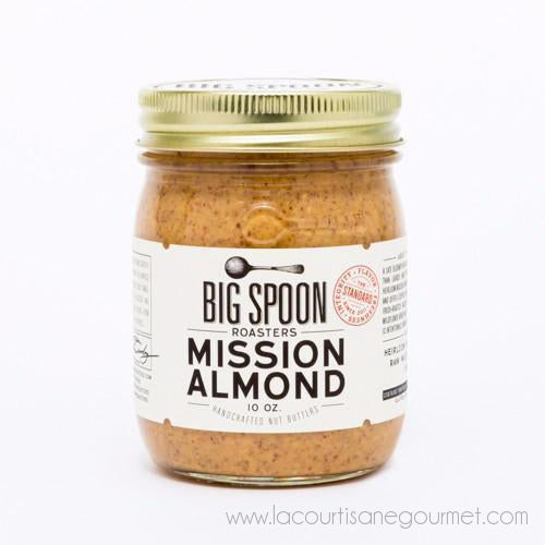 Big Spoon Roasters - Mission Almond Butter 10 oz - Spread - La Courtisane Gourmet Food