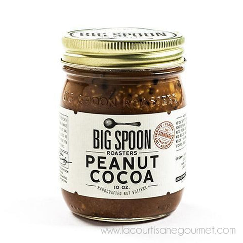 Big Spoon Roasters - Peanut Cocoa Butter 10 oz - Spread - La Courtisane Gourmet Food
