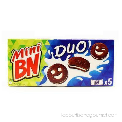 Bn - Chocolate Vanilla Duo Mini Cookies, 6.8 Oz. - cookies - La Courtisane Gourmet Food
