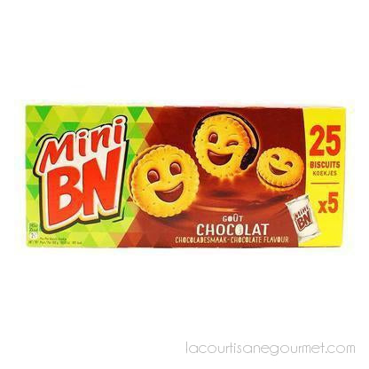 Bn - Mini Bn Sandwich Cookies Chocolate, 6.2 Oz - cookies - La Courtisane Gourmet Food