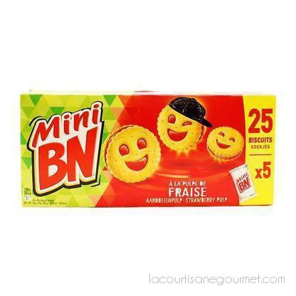 Bn - Mini Bn Sandwich Cookies Strawberry, 6.1 Oz. - cookies - La Courtisane Gourmet Food