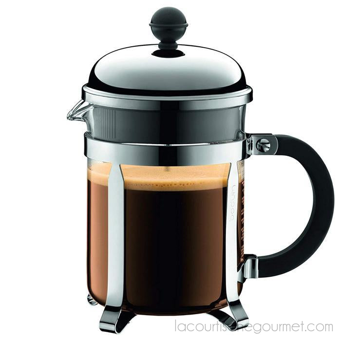 Bodum - Chambord French Press Coffee Maker, 4 Cup - - La Courtisane Gourmet Food