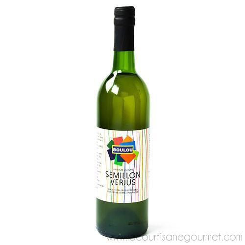 Boulou - White Semillon Verjus 750 mls - Vinegar - La Courtisane Gourmet Food