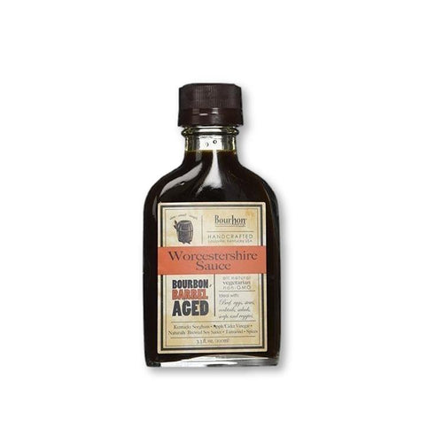 Bourbon Barrel Foods - Aged Worcestershire Sauce 3.3 Oz - Sauce - La Courtisane Gourmet Food