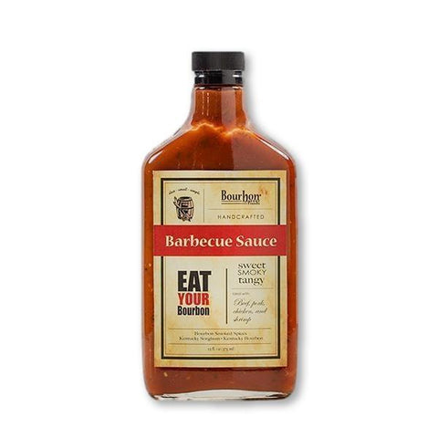 "Bourbon Barrel Foods "" Sweet , Smoky , Tangy "" Barbeque Sauce 12.Fl Oz - Sauce - La Courtisane Gourmet Food"